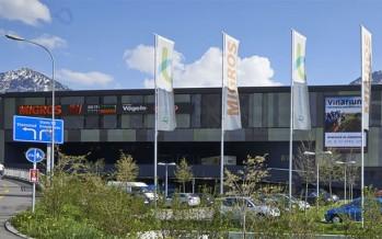 Einkaufcenter Länderpark in Stans
